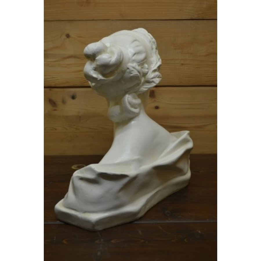 Romeinse of Griekse vrouw buste borstbeeld-4