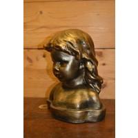 thumb-Meisje buste borstbeeld-4