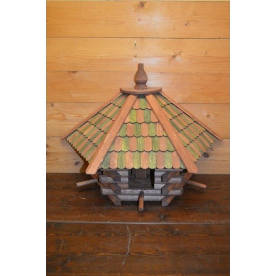 Vogelvoederhuisje wanddecoratie-2