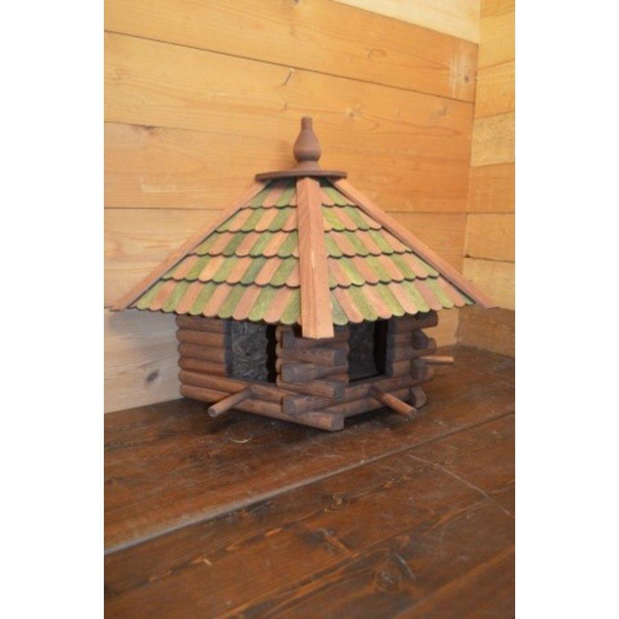 Vogelvoederhuisje wanddecoratie-1