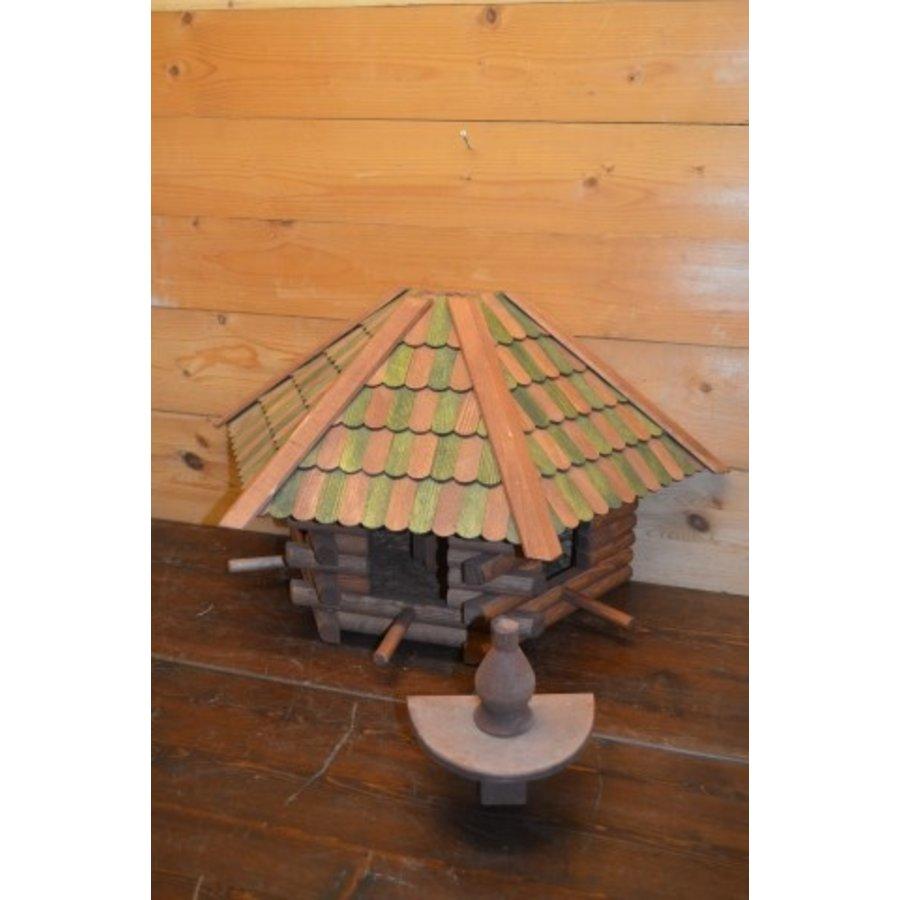 Vogelvoederhuisje wanddecoratie-5
