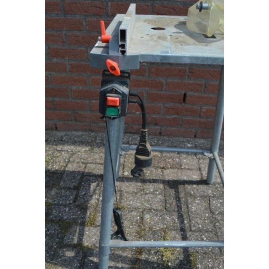 Hobby zaagbok metaal met veiligheidskap en schakelaar-5