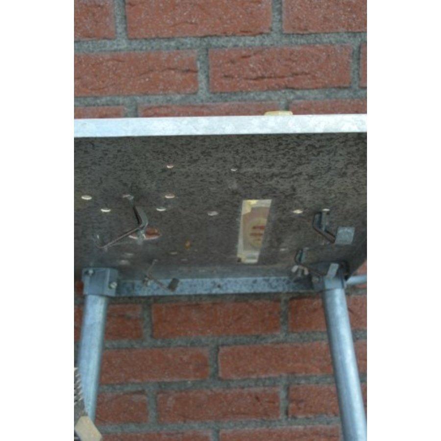 Hobby zaagbok metaal met veiligheidskap en schakelaar-8