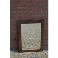 thumb-Spiegel donker eiken rechthoekig model-1