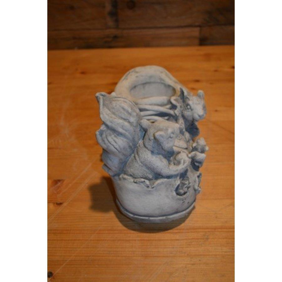Eekhoorntjes op een schoen-2