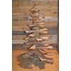 Meulenveld handel Kleine kerstboom van pallethout
