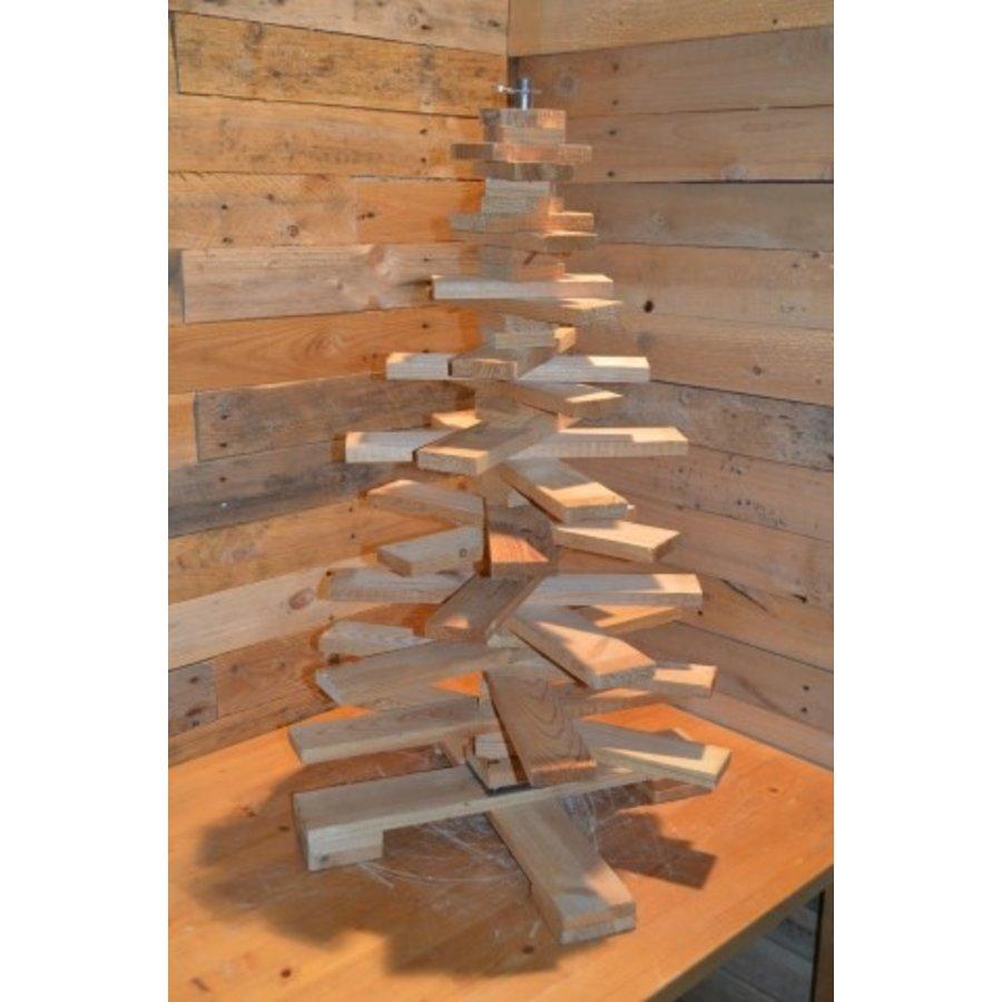 Kleine kerstboom van pallethout-2