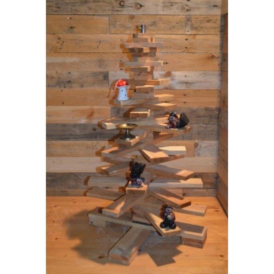 Kleine kerstboom van pallethout-3