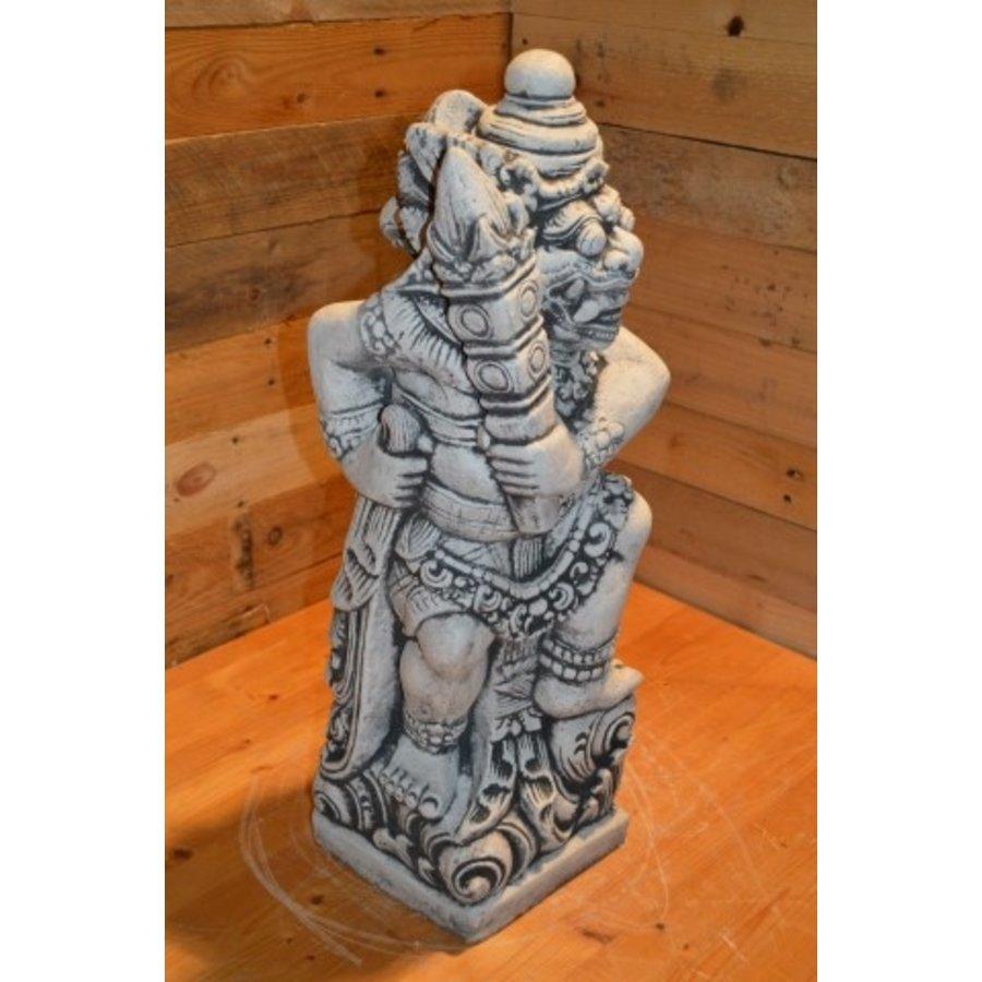 Balinese tempelwachter  links kijkende-2