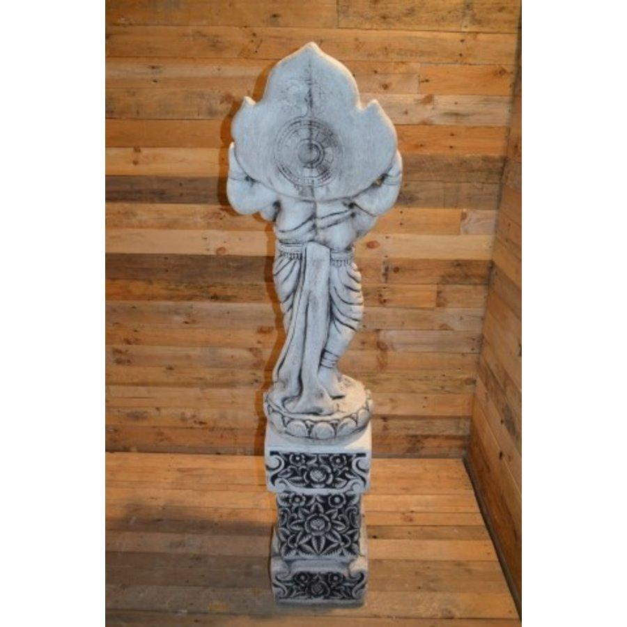 Staande Ganesha + pilaar-4