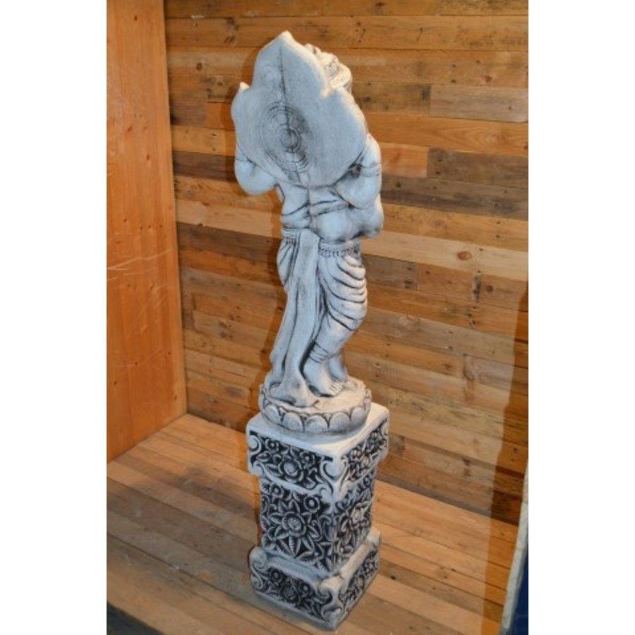Staande Ganesha + pilaar-5