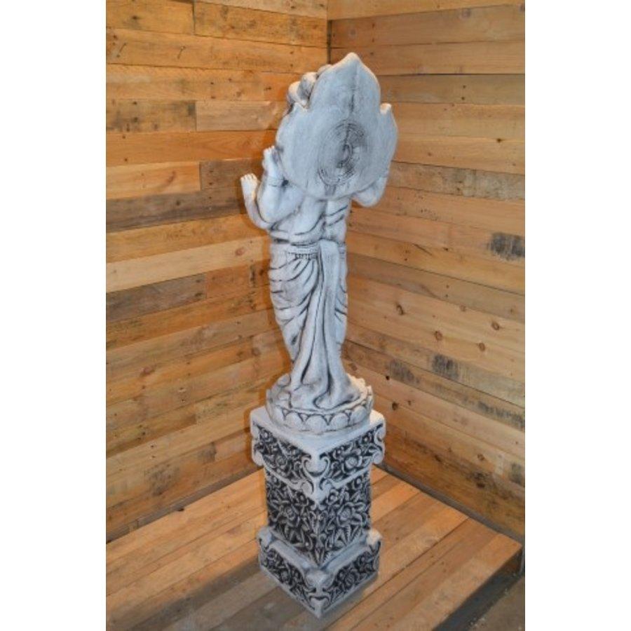 Staande Ganesha met pilaar-6
