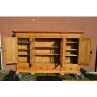 thumb-Kasteel dressoir robuust ambachtelijk met houtsnijwerk-5