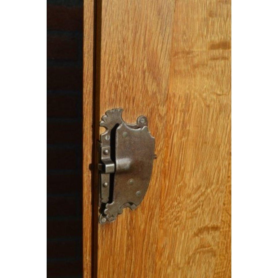Kasteel dressoir robuust ambachtelijk met houtsnijwerk-6