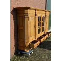 thumb-Kasteel dressoir robuust ambachtelijk met houtsnijwerk-7