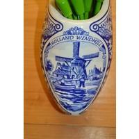 thumb-Klomp van aardewerk met houten tulpen-4