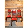 4 stoelen oud eiken