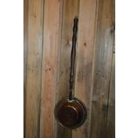 thumb-Bedstoof kleine pan vintage gebruiks voorwerp-3