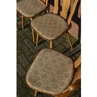 thumb-Caféstoelen van beukenhout met een gestoffeerde zitting-4