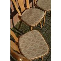 thumb-Caféstoelen van beukenhout met een gestoffeerde zitting-5