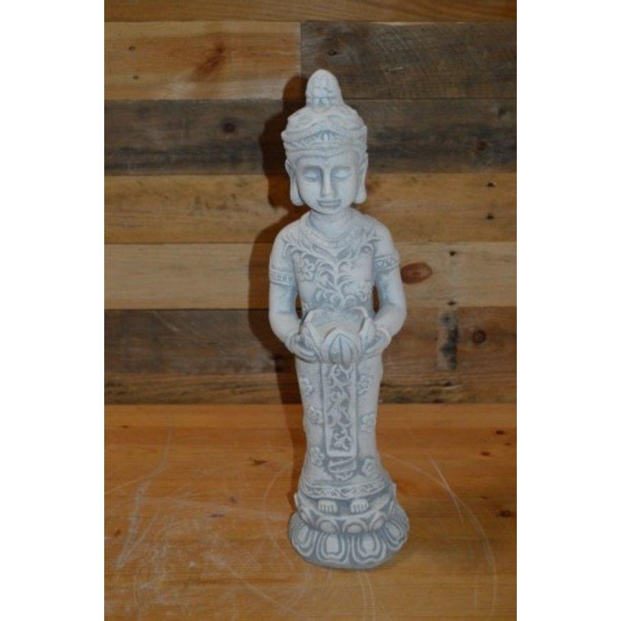Staande Shiva met theelicht houder-1