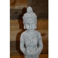 thumb-Staande Shiva met theelicht houder-5