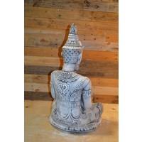 thumb-Shiva god met een lotus schaaltje voor waxinelichtje-3
