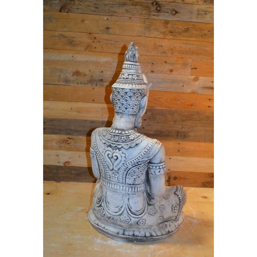 Shiva god met een lotus schaaltje voor waxinelichtje-3
