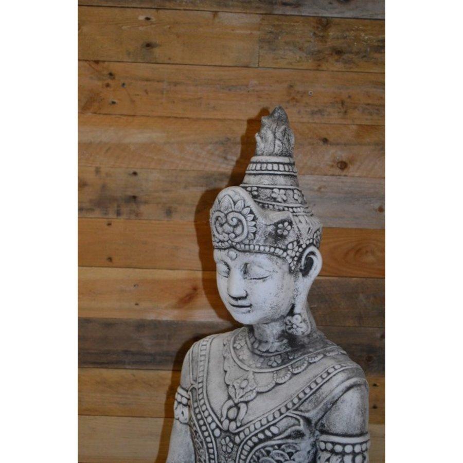 Shiva god met een lotus schaaltje voor waxinelichtje-6