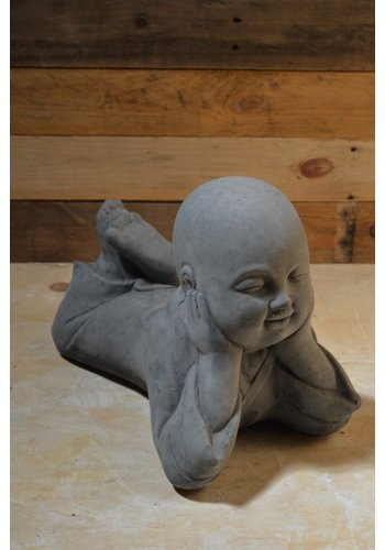 Shaolin de liggende mediterende monnik