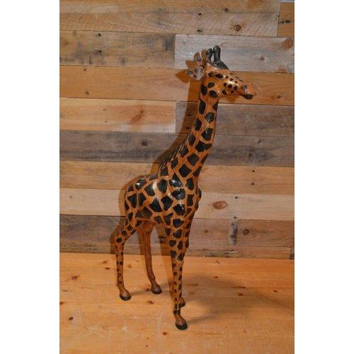 Giraf gemaakt van leer