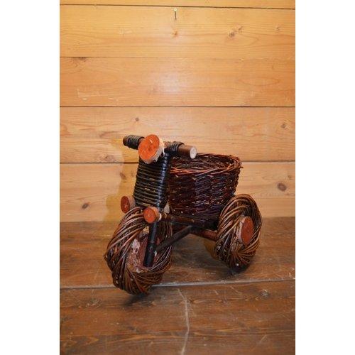 Wilgentenen driewieler fiets