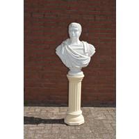 thumb-Caesar buste op pilaar-1