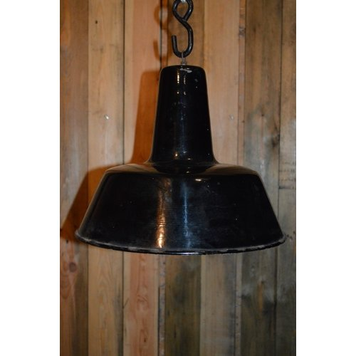 Vintage industriële lampenkap