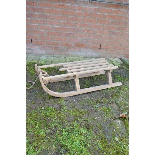 Vintage houten slee