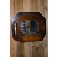 thumb-Garderobe met borstels en sierlijke spiegel-1
