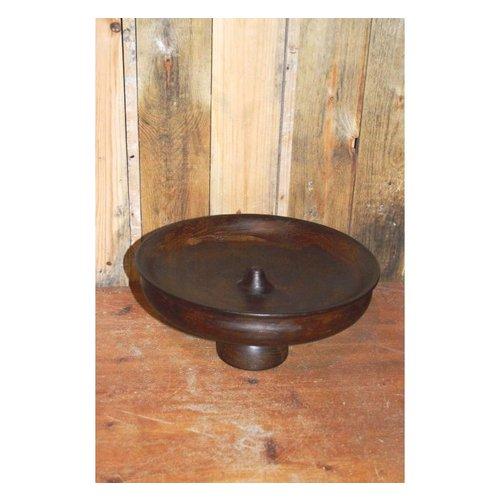 Decoratieve houten schaal