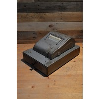 thumb-Bekro metalen vintage kassa met lade voor decoratie-1