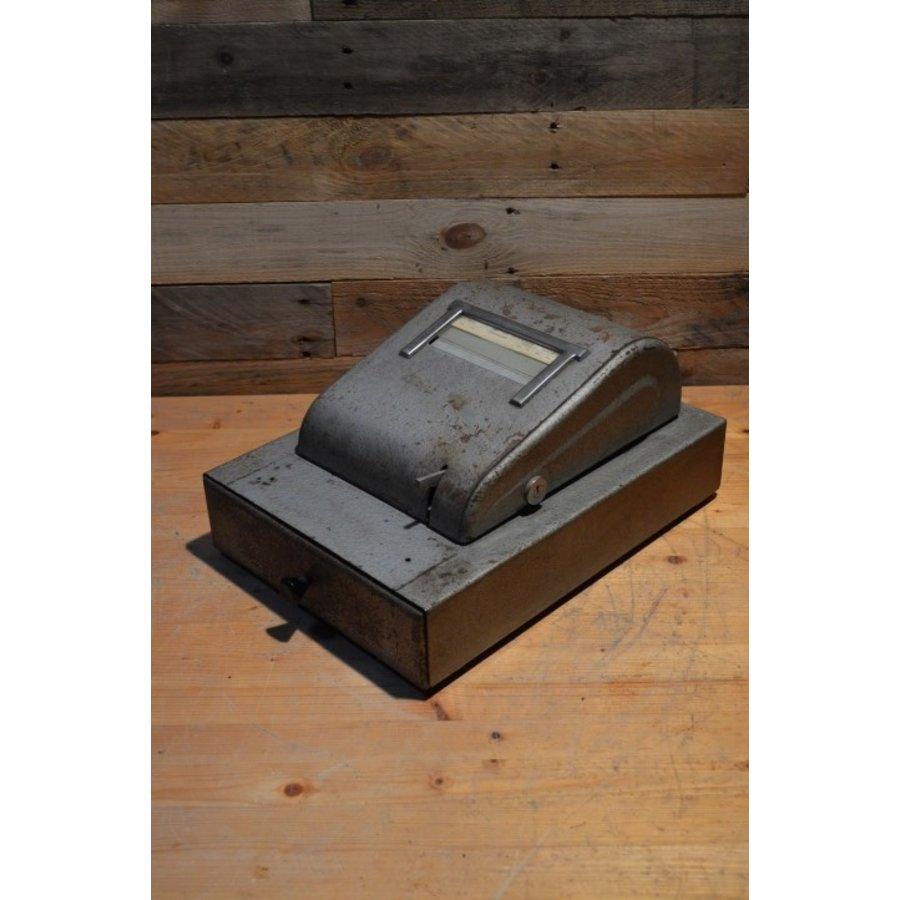 Bekro metalen vintage kassa met lade voor decoratie-1