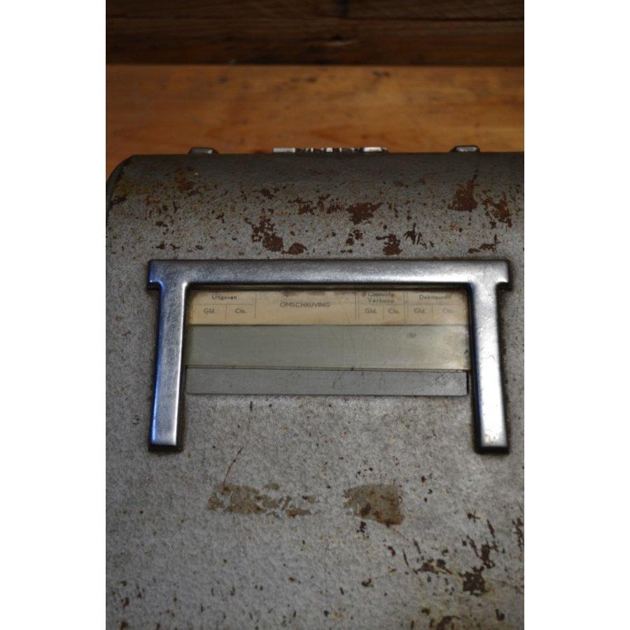 Bekro metalen vintage kassa met lade voor decoratie-2