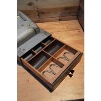 thumb-Bekro metalen vintage kassa met lade voor decoratie-4