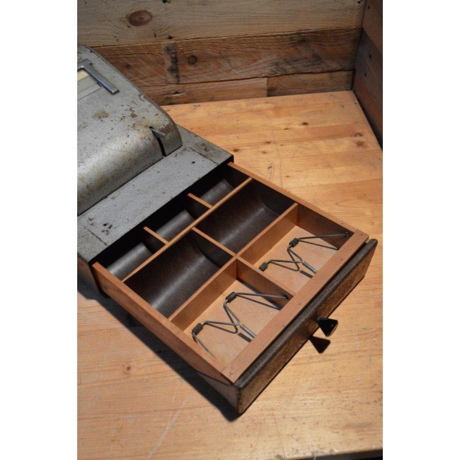 Bekro metalen vintage kassa met lade voor decoratie-4