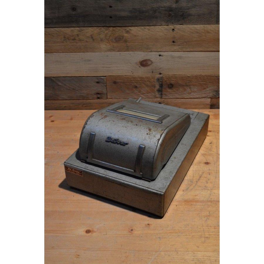 Bekro metalen vintage kassa met lade voor decoratie-5