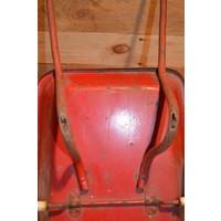 thumb-Vintage oude metalen kinderspeelgoed kruiwagen-5