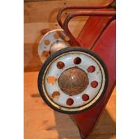 thumb-Vintage oude metalen kinderspeelgoed kruiwagen-6