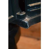 thumb-Sierlijke aluminium brievenbus op een tegel-6