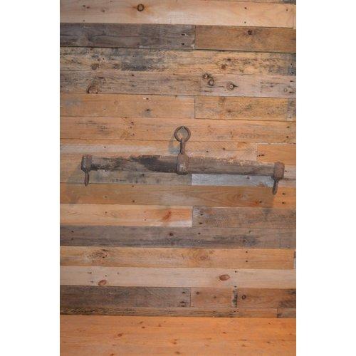 Trekbalk voor een paardenkar swinghout