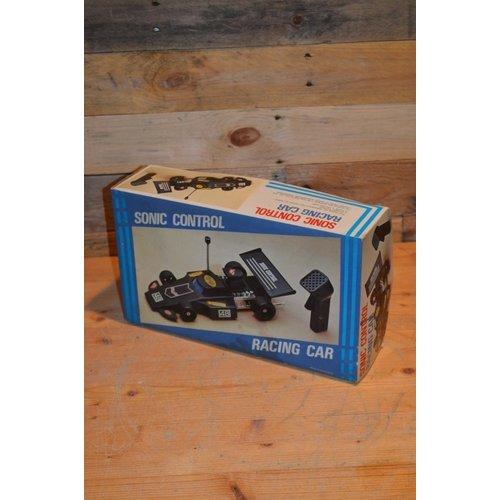 Sonic control racing car vintage