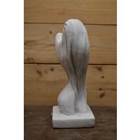 thumb-Vrouwelijke schoonheid in beton-4
