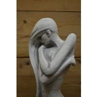 thumb-Vrouwelijke schoonheid in beton-5